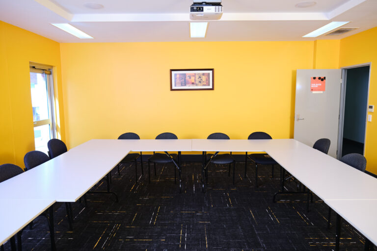 A photo inside Business Station Gosnells Training Room.